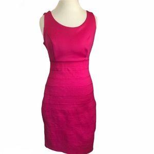 New York & Co Pink Bandage Sheath Dress